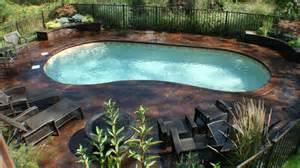 kidney pools 20 exquisite kidney shaped pool designs home design lover