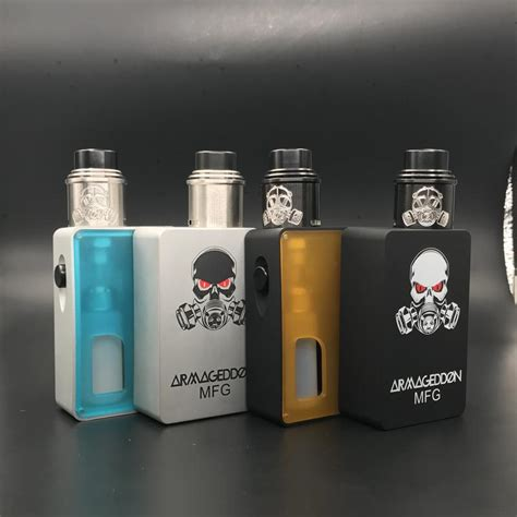 Matchbox Mechanical 18650 Squonk Mod Limited apocalypse squonk mod with bf rda armageddon squonker mod