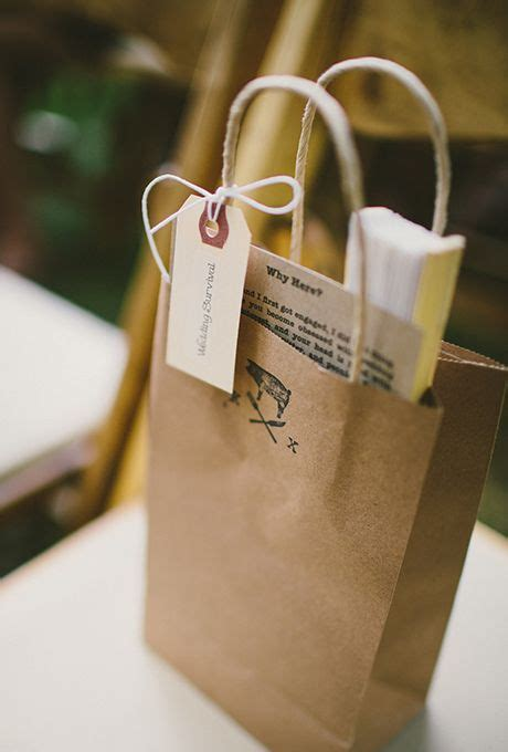 Paper Bag Welcome Size 40x33 35 best wedding favors images on diy wedding