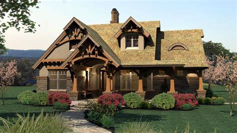 cottage craftsman house plans bungalow cottage craftsman tuscan house plan 65870