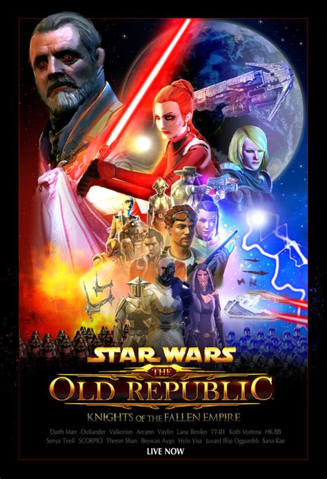 fallen empire film wiki swtor knights of the fallen empire force awakens by