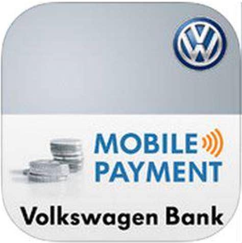 volkswagen bank mobile payment volkswagen bank