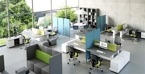 Noise In The Open Office Regalmark Open Floor Plan Office Increase Productivity