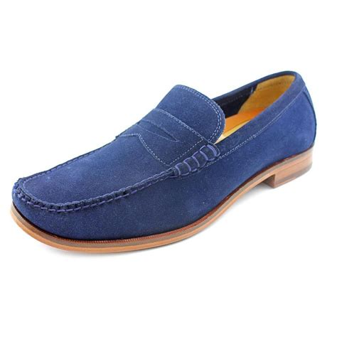 blue suede loafers mens cole haan hudson csul suede blue loafer loafers
