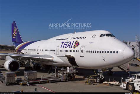 Thai Boeing 747 Passenger Airplane Alloy Plane Aircraft Metal Diecast hs tga thai airways boeing 747 400 at tokyo narita intl photo id 273160 airplane