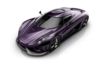 koenigsegg purple this koenigsegg regera rains purple for prince