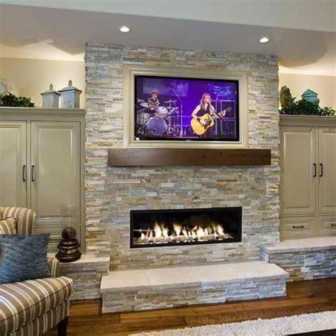 20 amazing tv above fireplace design ideas chemin 233 es