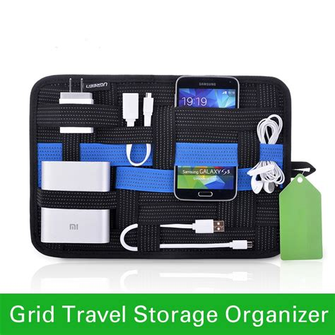 phone charger organizer bigital device organizer travel storage bag for iphone