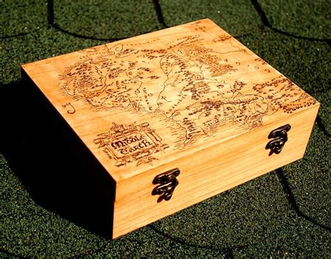 lord of the rings map box 8 unique engagement ring boxes