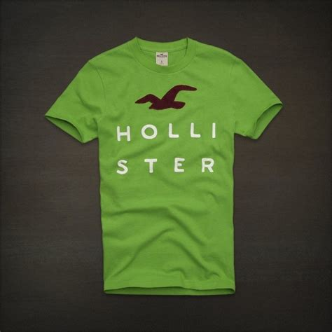 T Shirt Hollister Hlr03 One Tshirt hollister by abercrombie mens t shirt embroidered logos