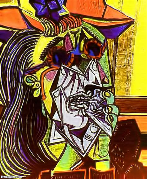 picasso paintings weeping pablo picasso weeping wearing sunglasses pictures
