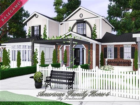 4 family homes pralinesims american family home 4