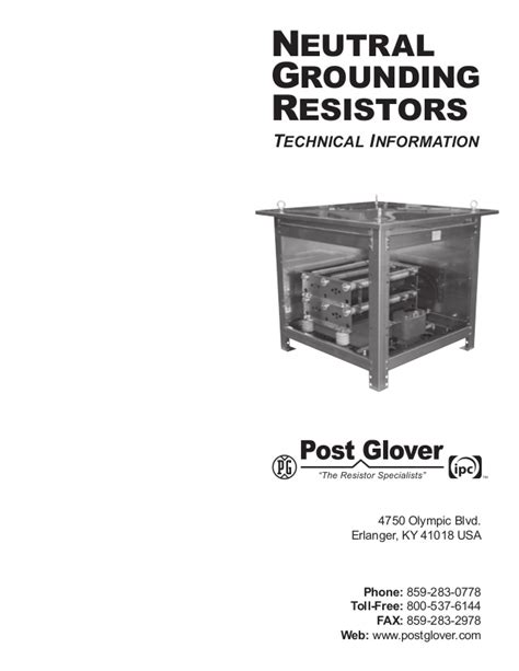 generator neutral grounding resistor sizing neutral grounding resistor