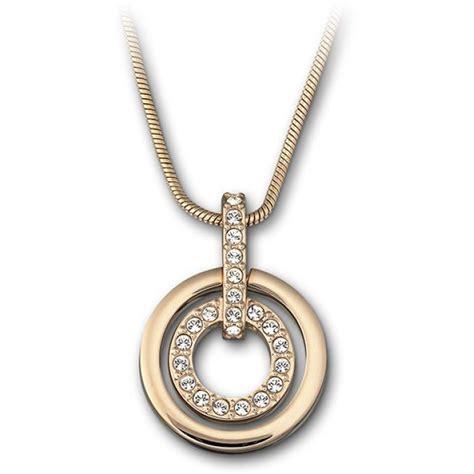 bijoux femme swarovski collier et pendentif swarovski 1081976 collier et pendentif cha 238 ne or femme sur bijourama