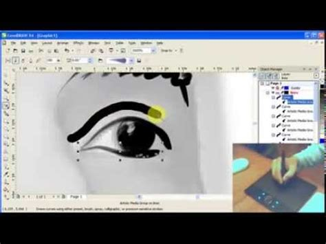 tutorial sketchbook tablet sketching using the wacom bamboo tablet tutorial corel