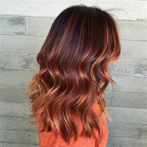 the 25 best copper balayage ideas on copper balayage ombre hair copper 25 copper balayage hair ideas for fall