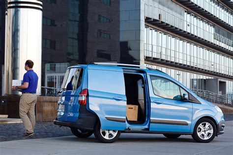 ford transit courier van review pictures auto express