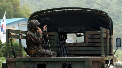 Terusan Korea Original Press 59 and south korea exchange at border news al jazeera