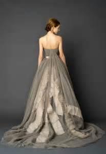 wedding dresses grey 30 gorgeous wedding dresses that are not white wedding
