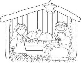 imagenes sencillas del nacimiento de jesus el nacimiento de jes 250 s en el portal de bel 233 n para pintar