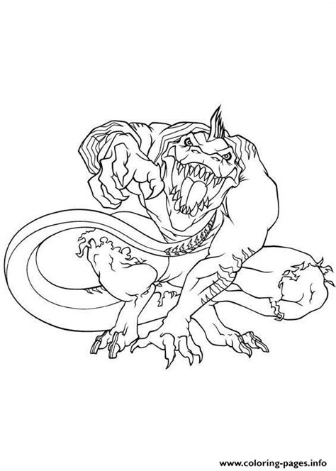 lizard spiderman coloring pages ultimate spiderman lizard coloring pages printable