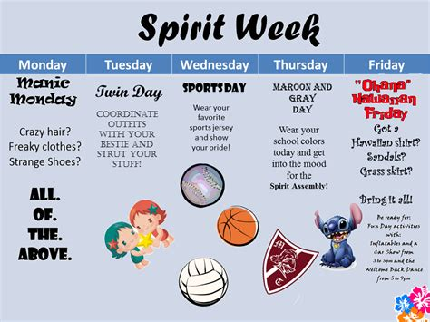 Welcome To Mr Chapman S Physics Class Blog Come On In The Learning Is Phun September 2014 Free Spirit Week Flyer Template