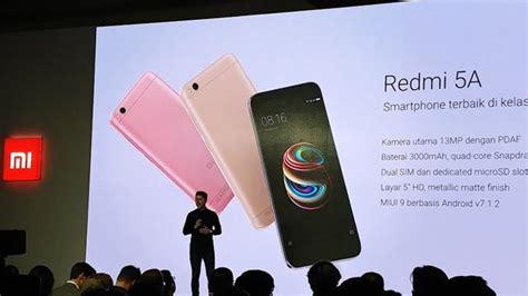 Hp Xiaomi Terbaru Di Lazada xiaomi redmi 5a handphone android terbaru murah di desember 2017 ini info handphone