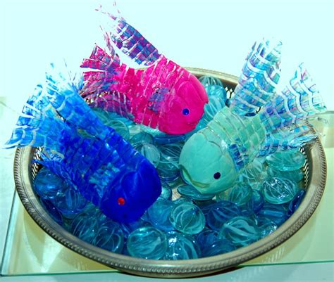 recycled water bottle crafts for recycled water bottle fish crafts school ideas