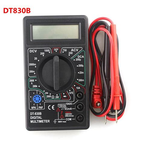 Multimeter Digital Dt830b buy wholesale dt830b digital multimeter from china