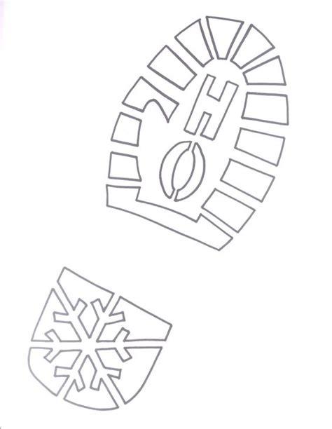 printable elf footprints studio 5 signs of santa powder sodas and christmas eve