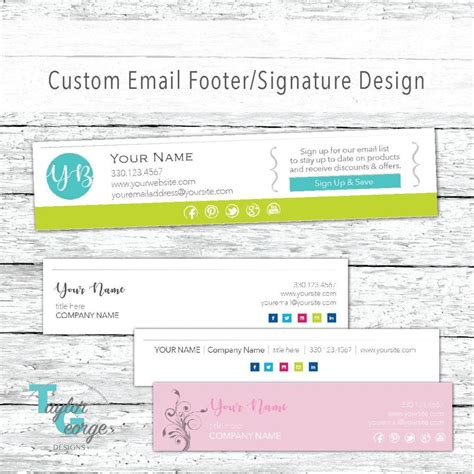 email footer template 29 email signature designs exles psd ai