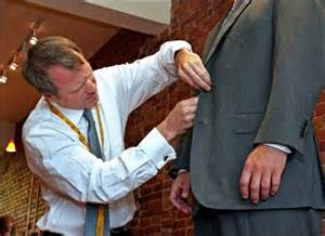 Tailors In Bespoke Tailoring Is The Word In Menswear The