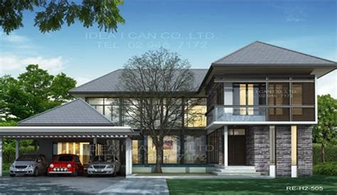 4 story modern house modern house modern style 2 story home plans for construction in thai