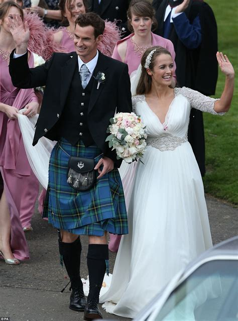 andy murray wedding andy murray and kim sears wedding at dunblane cathedral