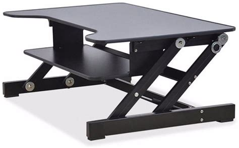 lorell sit to stand desk riser lorell sit to stand adjustable monitor desk riser home