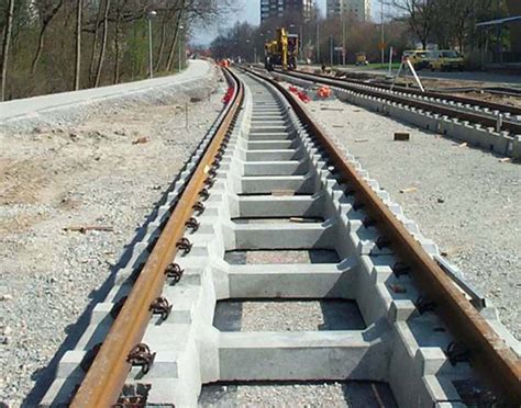 Track Sleepers by Slab Track Products Stanton Bonna