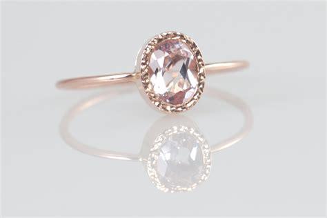 morganite engagement ring gold morganite ring