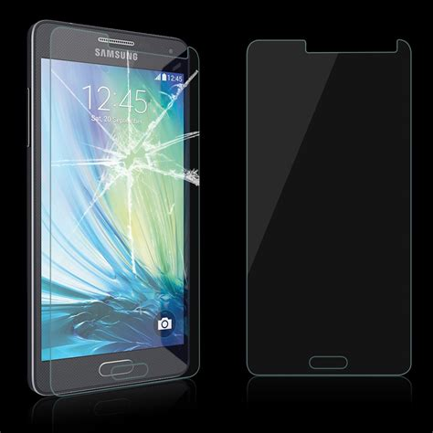 Tempered Glass A5 9h tempered glass screen protector guard for samsung galaxy a3 a5 a7 j5 j7 ebay