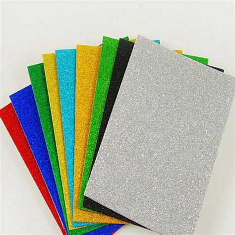 foam sheet crafts for factory supply fully stock a4 glitter foam sheet view