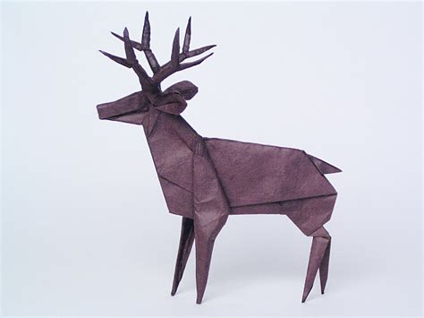 How To Make A Paper Deer - les origamis de robert j lang
