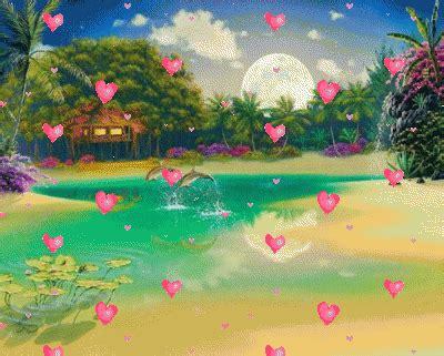 imagenes de paisajes gif con movimiento paisajes de amor romanticos con movimiento