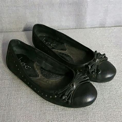 boc flat shoes born boc born concept black ballet flats shoes 6 from