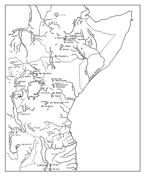 a sketch of africa map management of fish stocks and fisheries of and