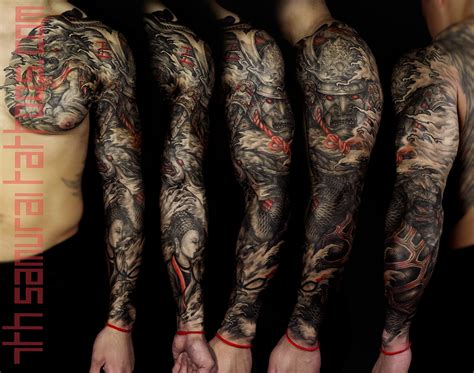 sleeves 7th samurai tattoos