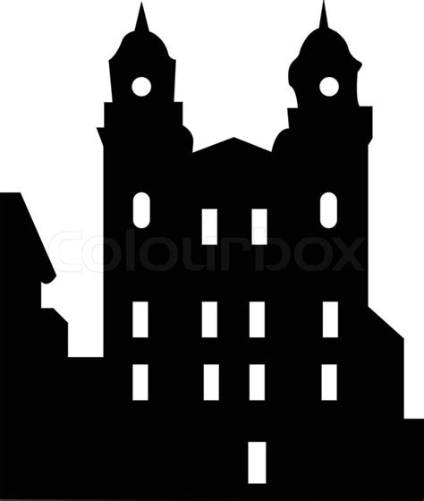 how to get a copy of your house plans illustration of old house silhouette vector stock