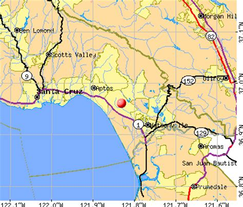 where is hill california map aptos ca map image search results