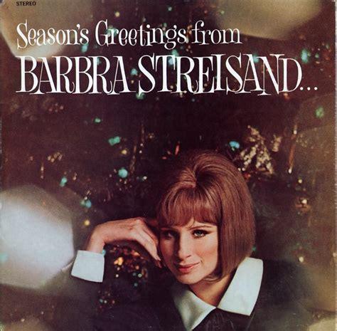 barbra streisand xmas album goodyear great songs of christmas cd album record