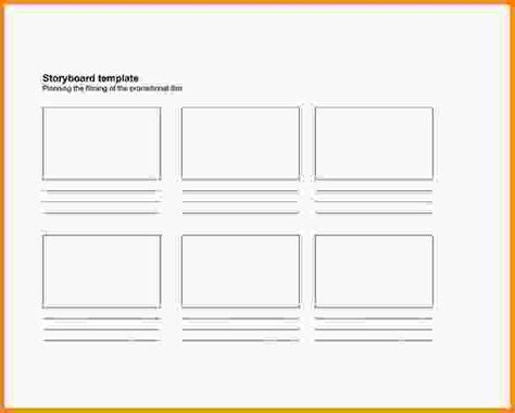 storyboard template pdf sle storyboard template 15 free