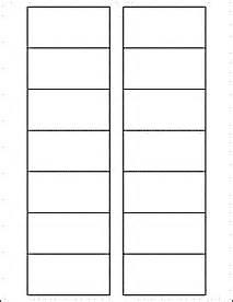 File Cabinet Label Template by 3 Quot X 1 5 Quot Rectangle Labels Ol248 3 Quot X 1 5 Quot