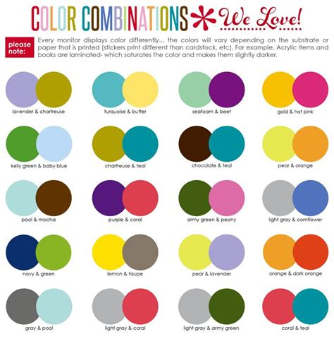 best color palettes 2017 coilclip connectors erin condren organizing and planners